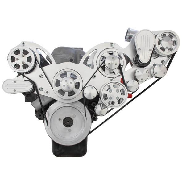 Chevy Big Block Serpentine Kit - ProCharger - AC, Alternator & Power Steering