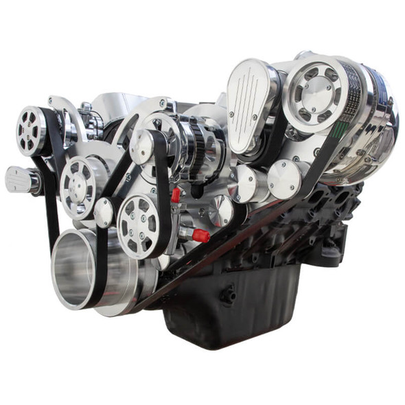 Chevy Big Block Serpentine Kit - ProCharger - AC, Alternator & Power Steering