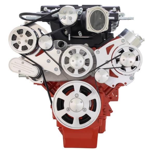 Chevy LS Serpentine Kit - Whipple - AC & Alternator