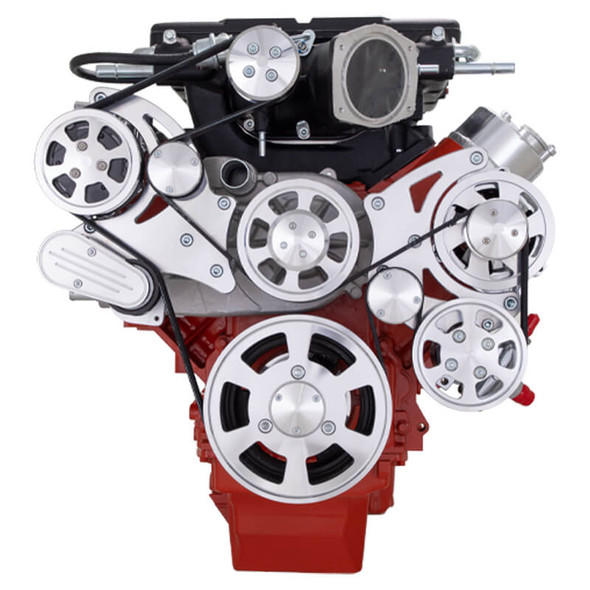 Chevy LS Serpentine Kit - Magnuson - AC, Alternator & Power Steering