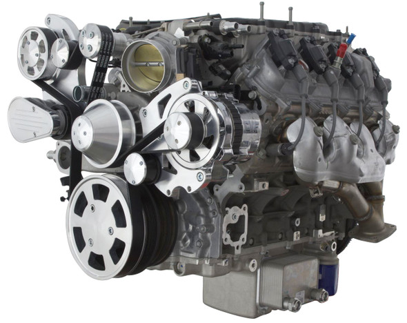 LT4 MID MOUNT WRAPTOR ALTERNATOR ONLY RIGHT VIEW