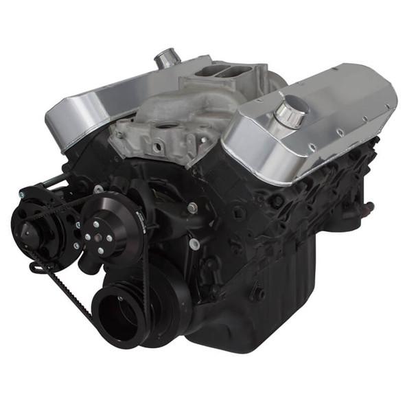 Black Chevy Big Block V-Belt System - Alternator Only, LWP