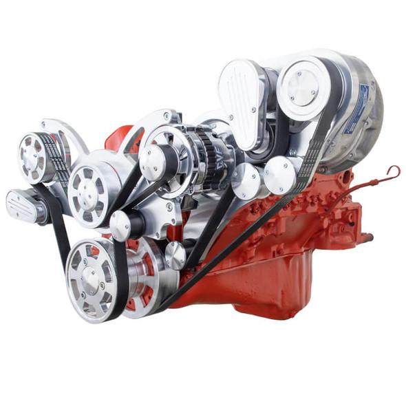 Chevy Small Block Engine Serpentine Kit - ProCharger - Alternator Only