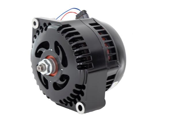 Mechman 1 Wire High Amperage Alternator, 300 Amp, Black Plated