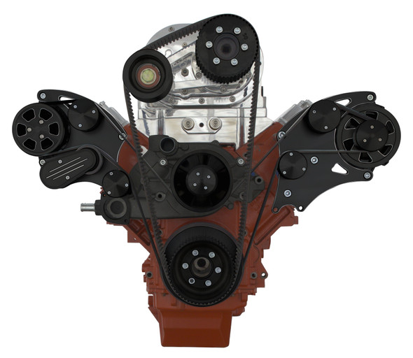 BLACK DIAMOND LSX WIDE MOUNT TBS SUPERCHARGED ALT ONLY WRAPTOR FRONT SIDE VIEW