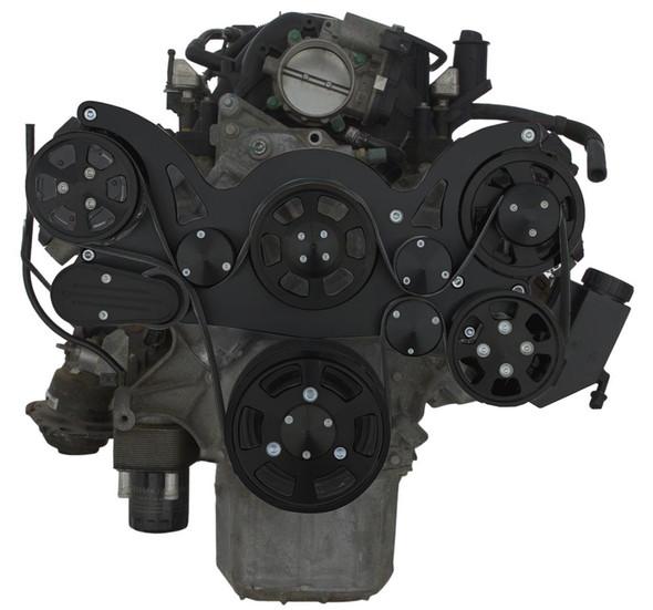 BLACK GEN III HEMI WRAPTOR AC FRONT VIEW