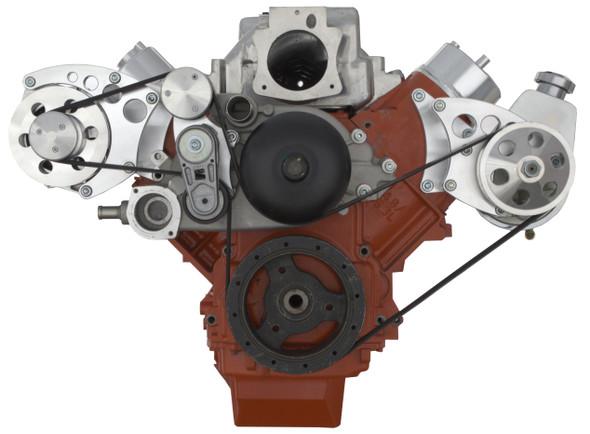 Chevy LS Engine Serpentine Conversion - Power Steering & Alternator
