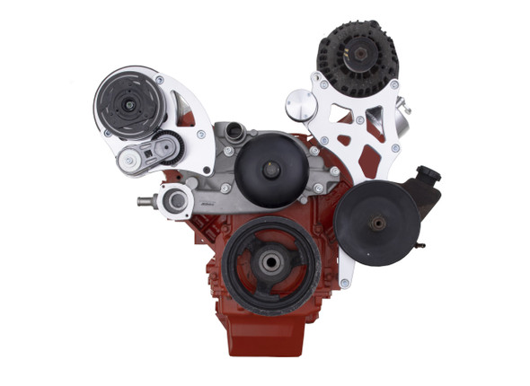 Chevy LS Engine Alternator and Power Steering Bracket OEM Upgrade