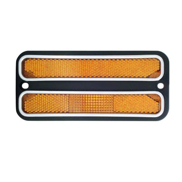 68 - 72 Amber Side Marker Light for Chevy C10