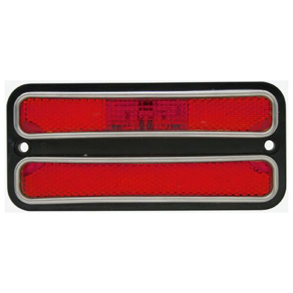68 - 72 C10 LED Side Marker Red