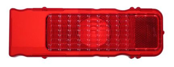 1968 Chevy Camaro Red Tail Light Lens