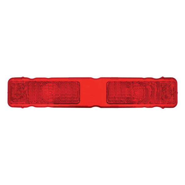 1968 Chevy Camaro Rally Sport Tail Light Lens (Red)