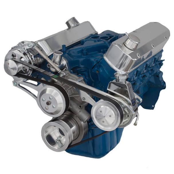 Ford 5.0L & 5.8L Serpentine Conversion Kit - Alternator & Power Steering