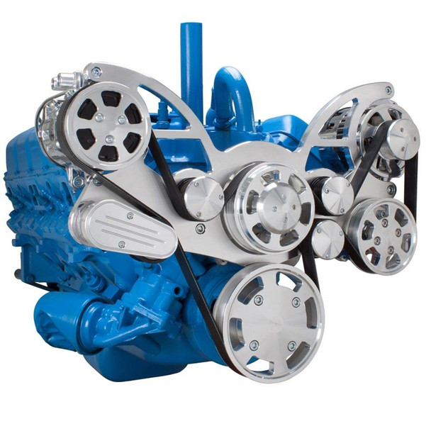 Serpentine System for AMC Jeep 306, 360 & 401 - AC, Power Steering & Alternator
