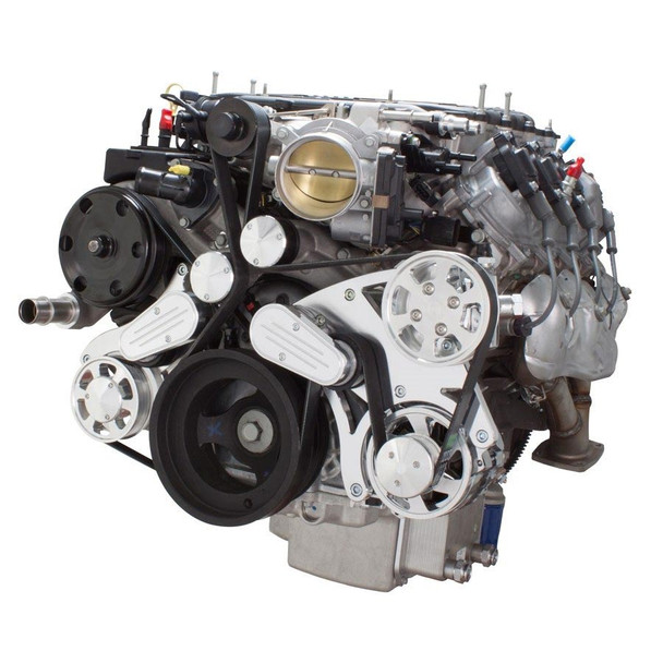 Serpentine System for LT4 Supercharged Generation V - Power Steering & Alternator