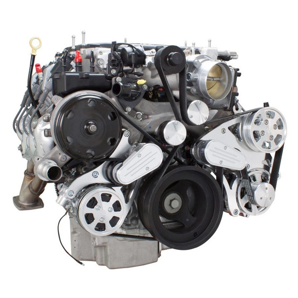 Serpentine System for LT4 Supercharged Generation V - AC, Power Steering & Alternator - All Inclusive