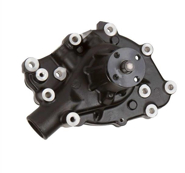 Black Ford 289-302-351W Mechanical Water Pump, High Flow, Aluminum