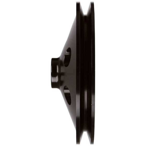Stealth Black Chevy Power Steering Pulley