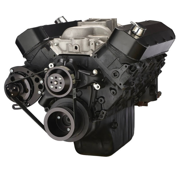 Black Chevy Big Block Serpentine Conversion Kit - Alternator Only