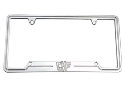 Official CVF Billet Aluminum License Plate Holder for your Car