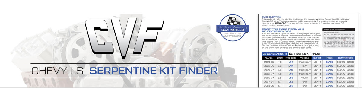 Chevy LS Engine Serpentine Kit Guide - Identify and Find the Right LS Engine Kit