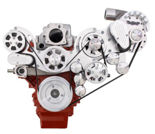Chevy LS Wraptor Serpentine Supercharger kit for TorqStorm