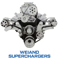 Chevy Big Block Wraptor Serpentine Supercharger kit for Weiand