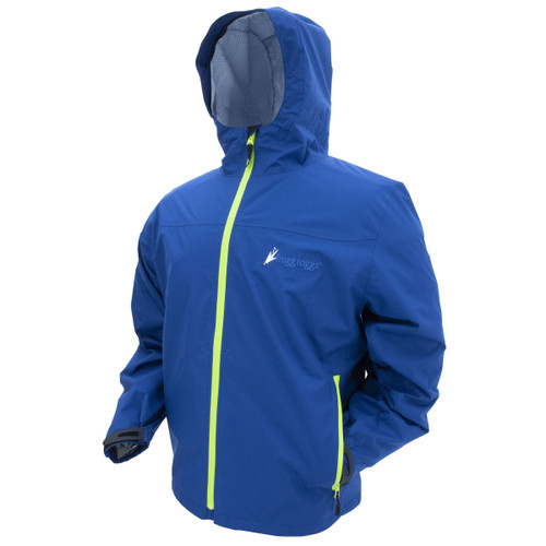 Frogg Togg Java Toadz 2.5 Jacket Navy/Lime Green