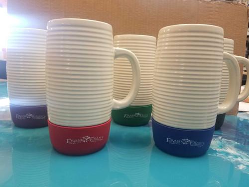 F&F Ceramic Mug with Lid