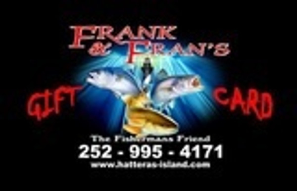 Frank and Fran's Gift Card