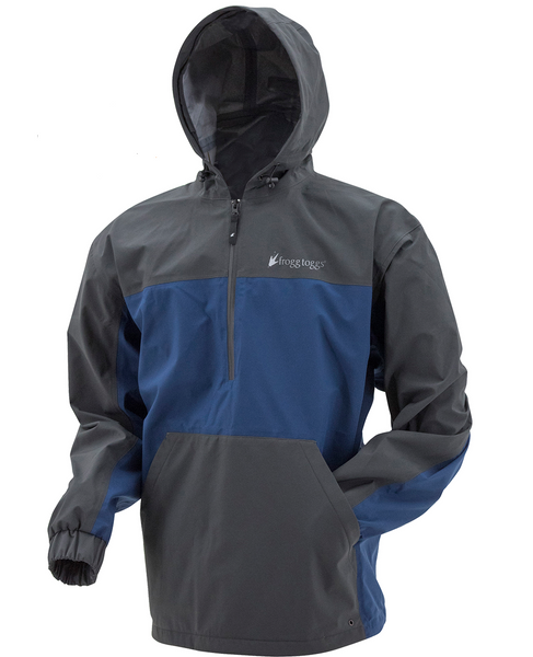 Frogg Togg Pilot Technical Hoodie Carbon / Dust Blue