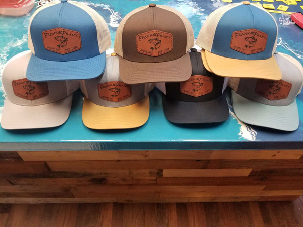 F&F Pacific Leather Patch Hat