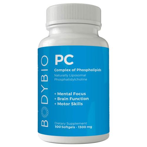 BodyBio PC 1300 mg 100 gels