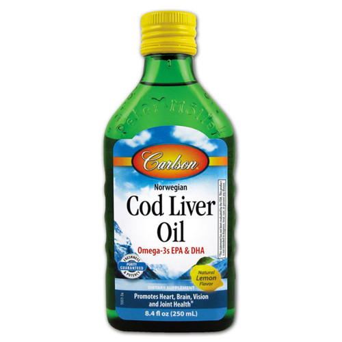 Cod Liver Oil Lemon 250 ml