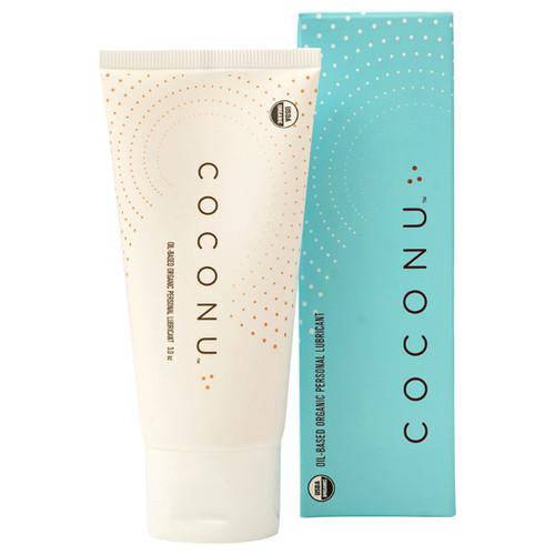 Coconu Organic Personal Lubricant <br>Coconut-Oil Based 3.0 oz