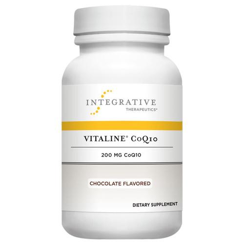 Vitaline CoQ10 200 mg <br>Chocolate Flavor 30 chews