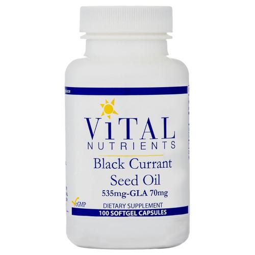 Black Currant Seed Oil 100 gels