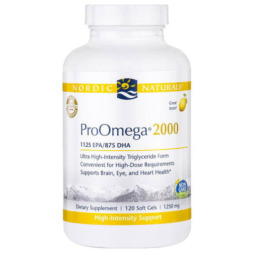 ProOmega® 2000 (Lemon) 120 softgels