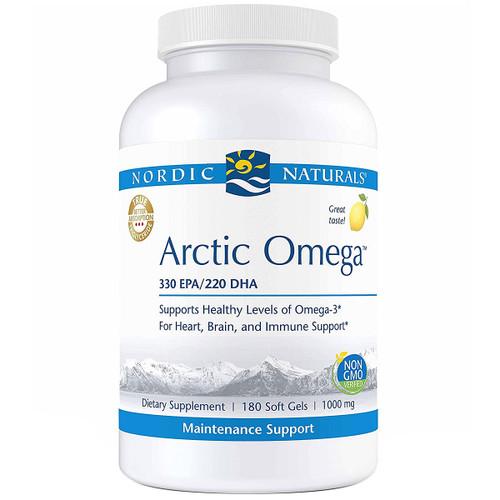 Arctic Omega™ (Lemon) 1000 mg 180 gels