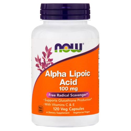 Alpha Lipoic Acid 100 mg <br>120 Vcaps