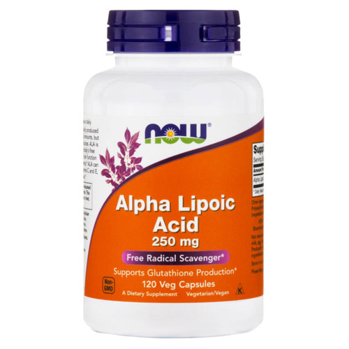 Alpha Lipoic Acid 250 mg <br>120 vcaps