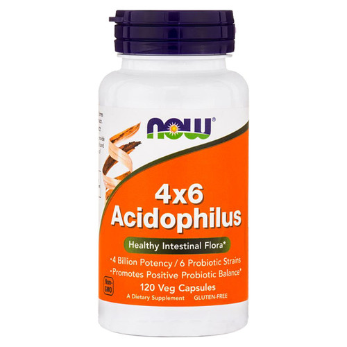 4x6 Acidophilus 120 caps