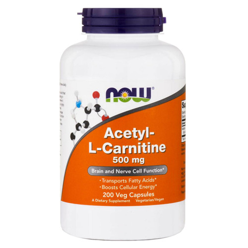 Acetyl-L Carnitine 500 mg<br>200 vcaps