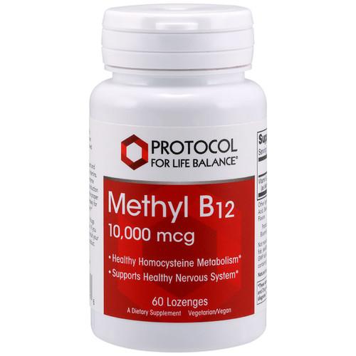 Methyl B12 10,000 mcg 60 loz