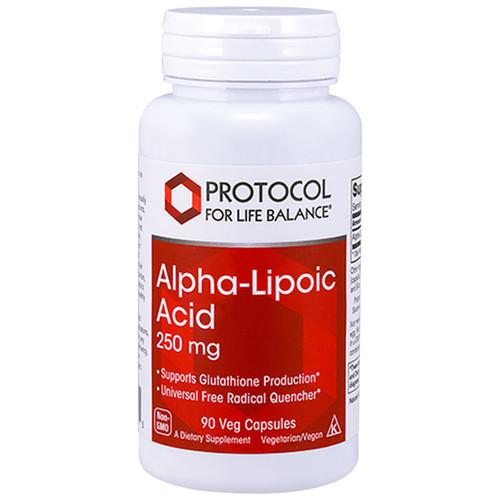 Alpha-Lipoic Acid 250 mg 90 vcaps