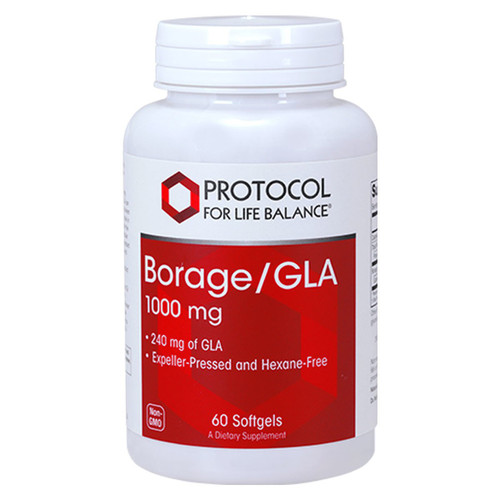 Borage/GLA 1000 mg 60 gels