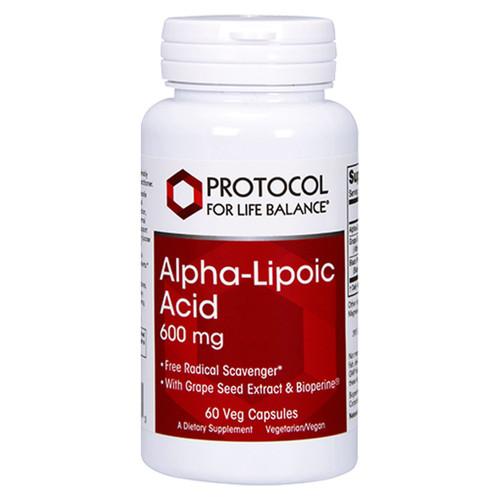 Alpha-Lipoic Acid 600 mg 60 vcaps