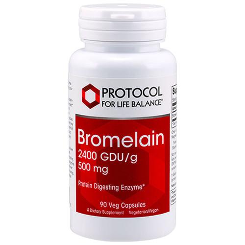 Bromelain 2400 GDUg 500 mg 90 vcaps