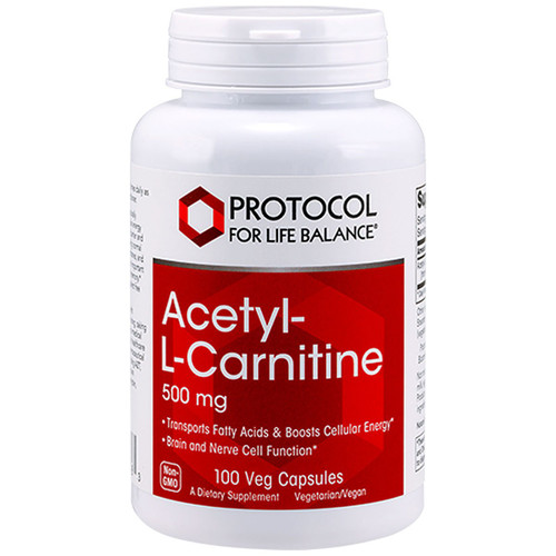 Acetyl-L-Carnitine 500 mg 100 vcaps