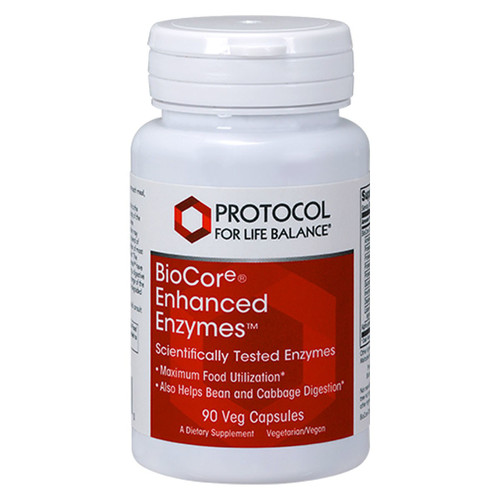 BioCore® Enhanced Enzymes™ 90 vcaps